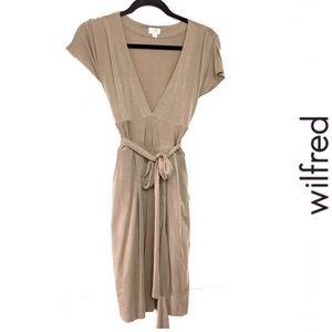 Aritzia short sleeve dress